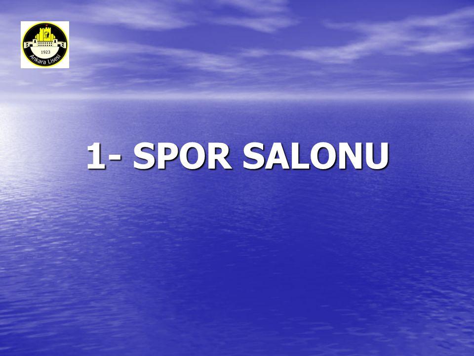 1- SPOR SALONU