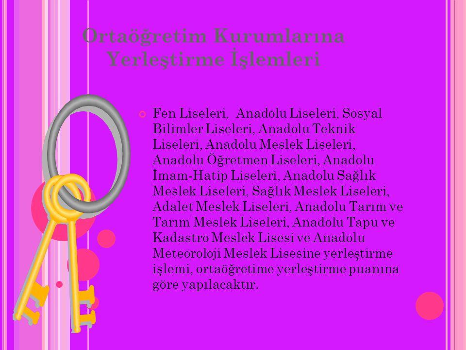 SBS'de hangi derslerden soru sorulacak? Türkçe, Matematik, Fen ve Teknoloji, Sosyal Bilgiler, Yabancı Dil, Din Kültürü ve Ahlak Bilgisi Dersler Katsay