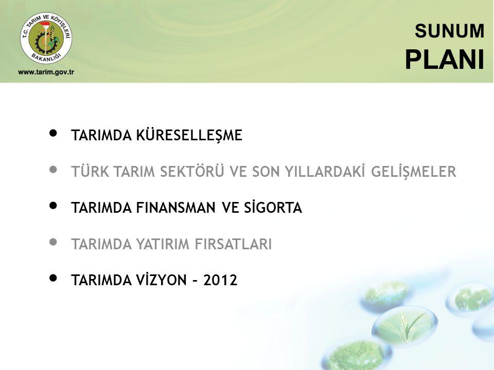 Potansiyel Organik Tarım Alanımız; 1 MİLYON HA ORGANİK TARIM Kaynak; TKB, 2008