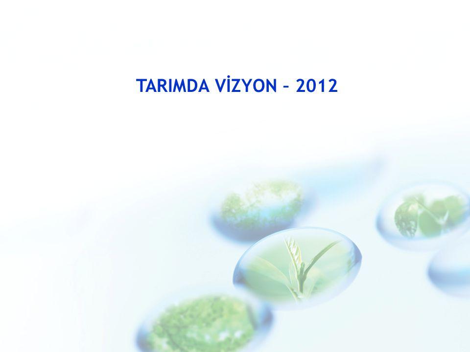 TARIMDA VİZYON – 2012