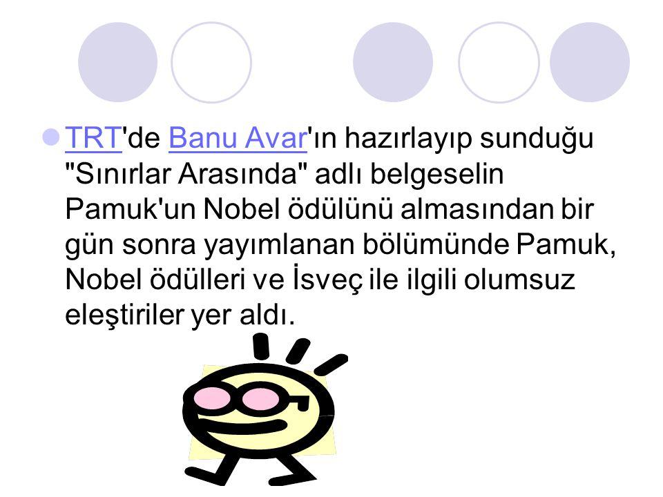  TRT'de Banu Avar'ın hazırlayıp sunduğu