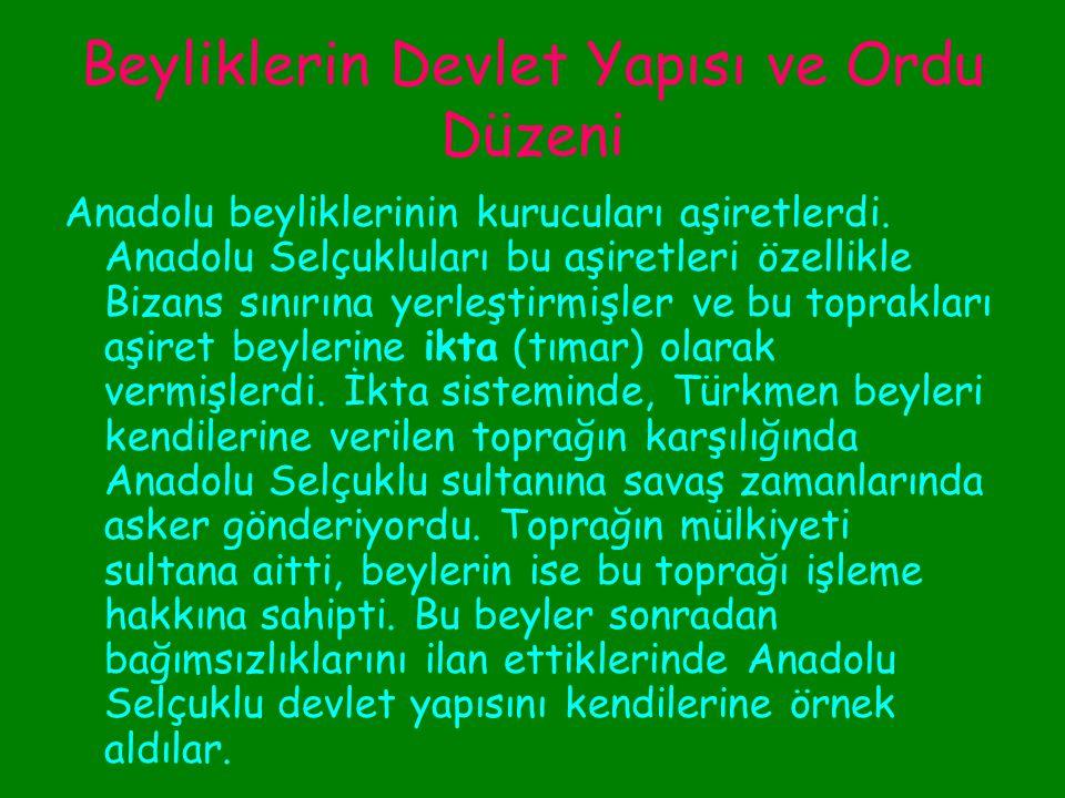 Karamanoğulları Bunun üzerine Yıldırım Bayezid 1390 da Karamanoğullarının üzerine yürüdü ve Konya yı alarak bu güçlü beyliğin egemenliğine son verdi.