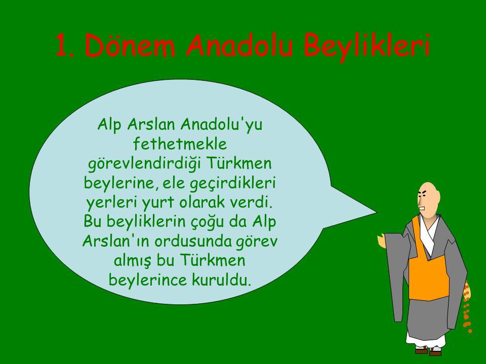 Anadolu Beylikleri Aynı dönemde, önce Anadolu'nun batı ucunda İznik'i başkent edinen, sonradan da Haçlı Seferleri nedeniyle başkentini Konya'ya taşıya