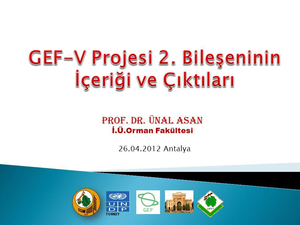 Prof. Dr. Ünal ASAN İ.Ü.Orman Fakültesi 26.04.2012 Antalya TURKEY