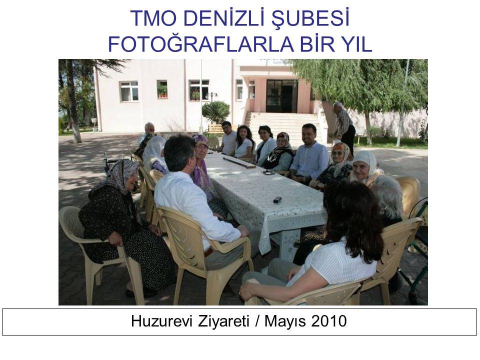 TMO DENİZLİ ŞUBESİ FOTOĞRAFLARLA BİR YIL PAÜ Tekstil Mühendisliği ZiyaReti / Nisan 2010 Tmmob, Meslek İlişkileri, Tekstil Mühendisliği Ve Geleceği