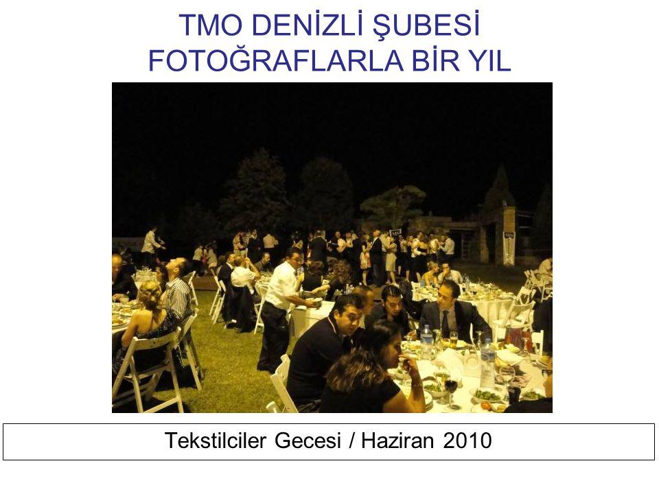 TMO DENİZLİ ŞUBESİ FOTOĞRAFLARLA BİR YIL Huzurevi Ziyareti / Mayıs 2010