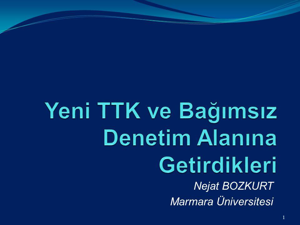 Nejat BOZKURT Marmara Üniversitesi 1
