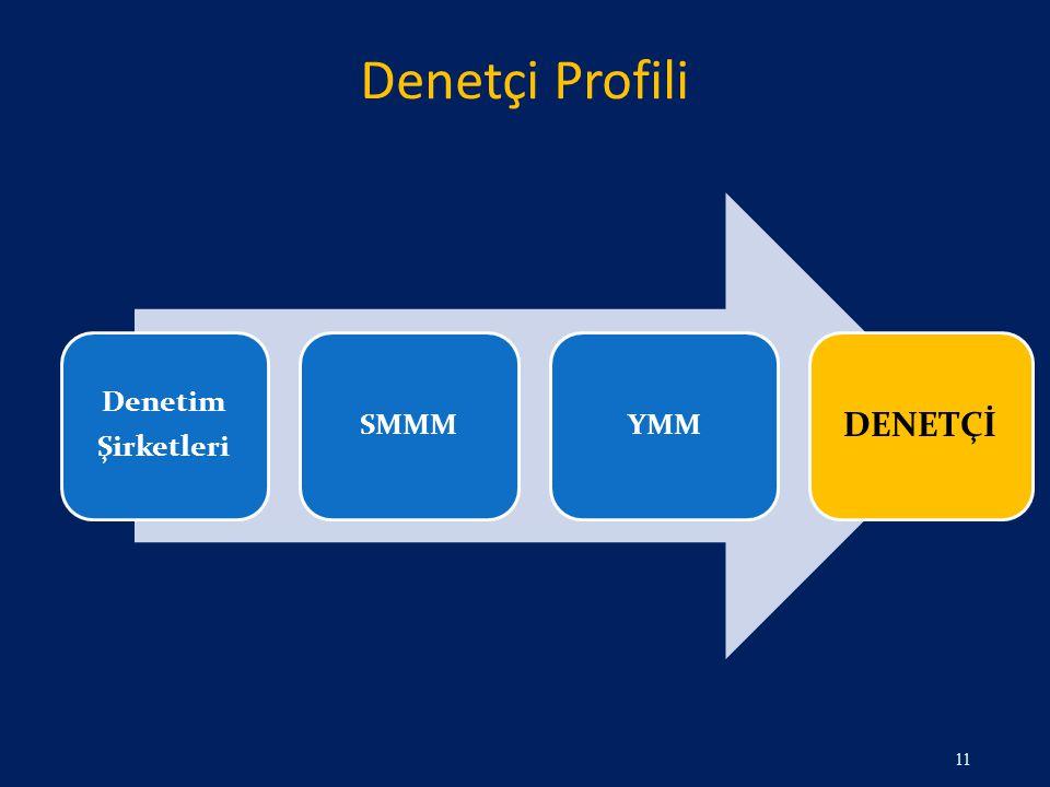 Denetçi Profili 11 Denetim Şirketleri SMMMYMM DENETÇİ