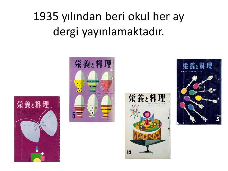 1935 yılından beri okul her ay dergi yayınlamaktadır.