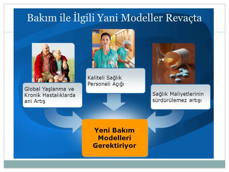 Bakım ile İlgili Yani Modeller Revaçta Yeni Bakım Modelleri Gerektiriyor Kaliteli Sağlık Personeli Açığı Global Yaşlanma ve Kronik Hastalıklarda ani A