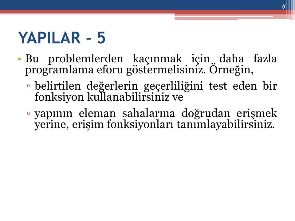ELEMAN NESNELER - 1 •Bir sınıf, nesneleri eleman olarak içerebilir.