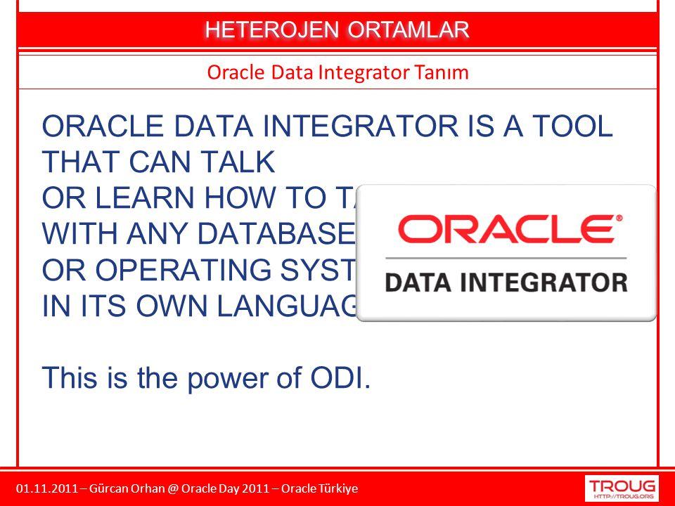 01.11.2011 – Gürcan Orhan @ Oracle Day 2011 – Oracle Türkiye TEŞEKKÜRLER Gürcan ORHAN http://gurcanorhan.wordpress.com http://www.twitter.com/gurcan_orhan http://tr.linkedin.com/in/gurcanorhan