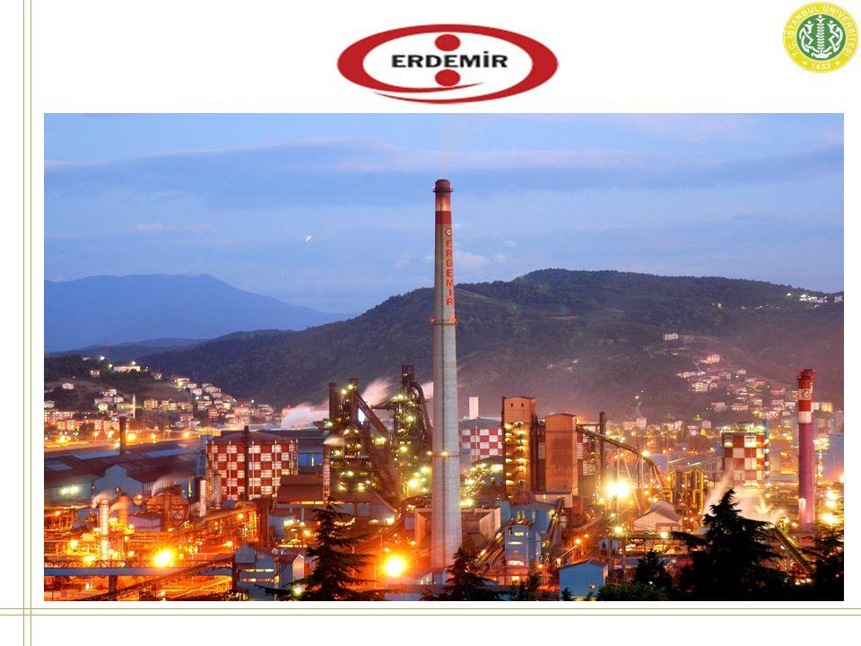 • Karadeniz Ereğli de yerleşik bulunan demir-çelik fabrikasıdır.