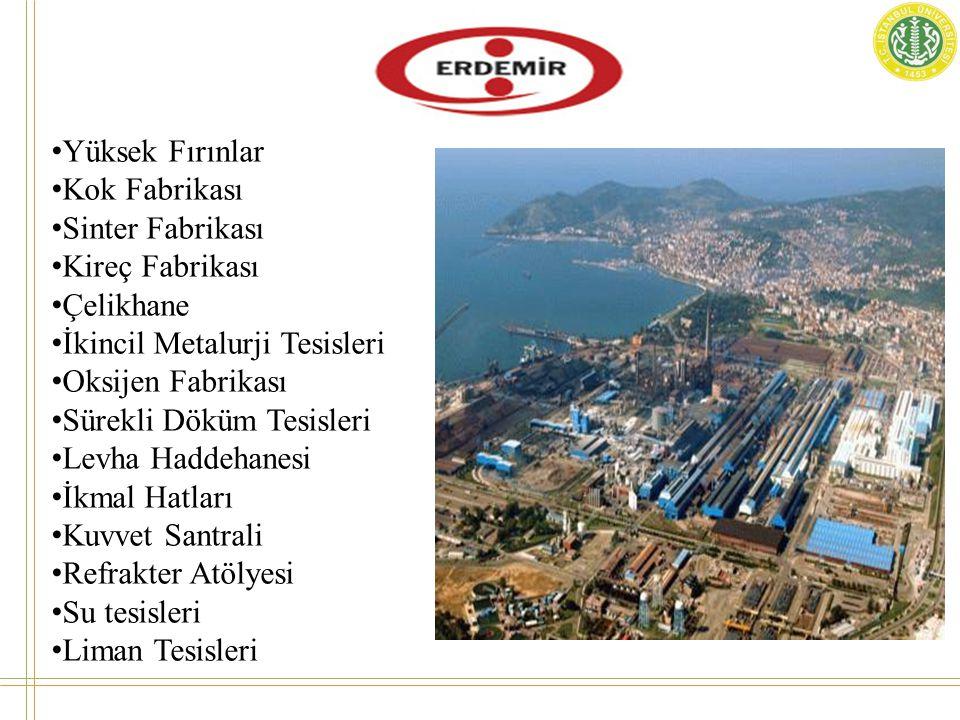 İSDEMİR, hem uzun hem yassı ürün üretimini demir cevherinden gerçekleştiren entegre bir demir – çelik tesisidir.