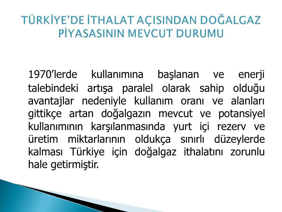 Sözleşmenin konusu mal 2005 yılında Rusya'dan Türkiye'ye doğalgaz nakletmek için kurulan Karadeniz geçişli Mavi Akım Boru Hattı ile taşınacaktır.