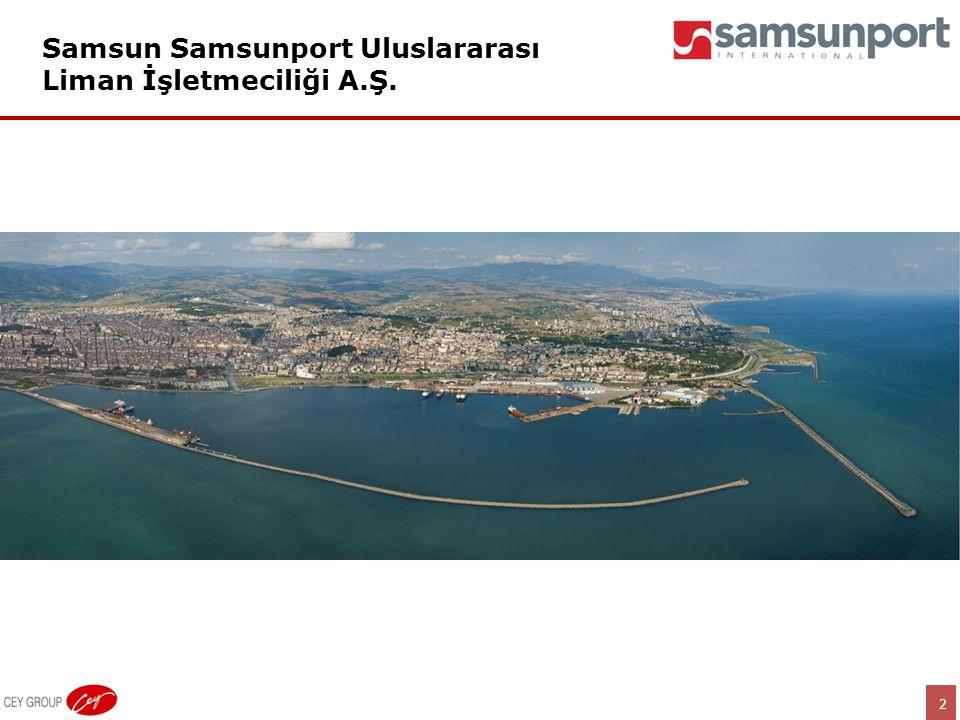 2 Samsun Samsunport Uluslararası Liman İşletmeciliği A.Ş.