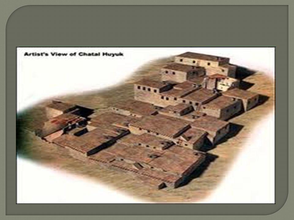 Çatalhöyük size ba ş ka bir tarihin kapılarını aralıyor.