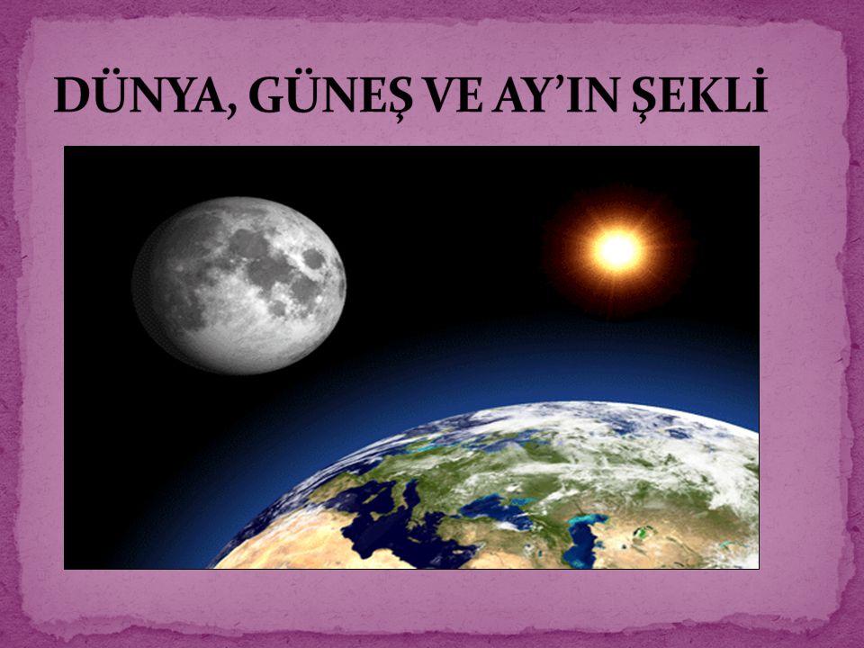 Ay'ın, Dünya ile birlikte Güneş çevresinde dönüşü sırasında ışık alan yüzü farklı şekillerde görünür.