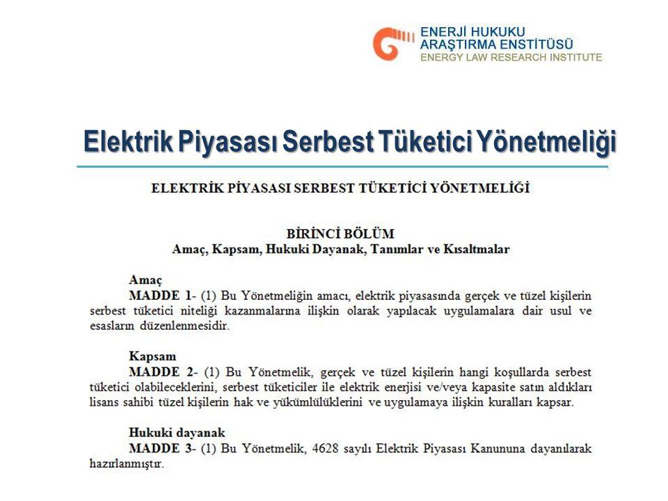 Elektrik Piyasası Serbest Tüketici Yönetmeliği 10.03.7017, Cumartesi The Plaza Otel - İstanbul