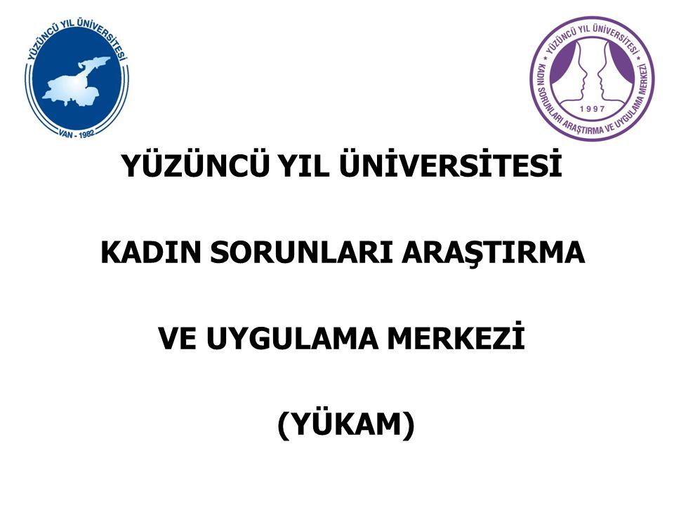KURULUŞU Yüzüncü Yıl Üniversitesi Kadın Sorunları Araştırma ve Uygulama Merkezi (YÜKAM), 1997 tarihinde kurulmuştur.