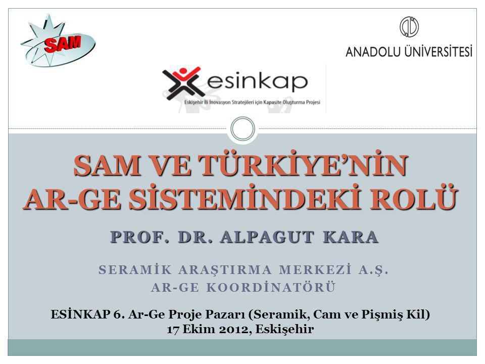 PROF.DR. ALPAGUT KARA SERAMİK ARAŞTIRMA MERKEZİ A.Ş.