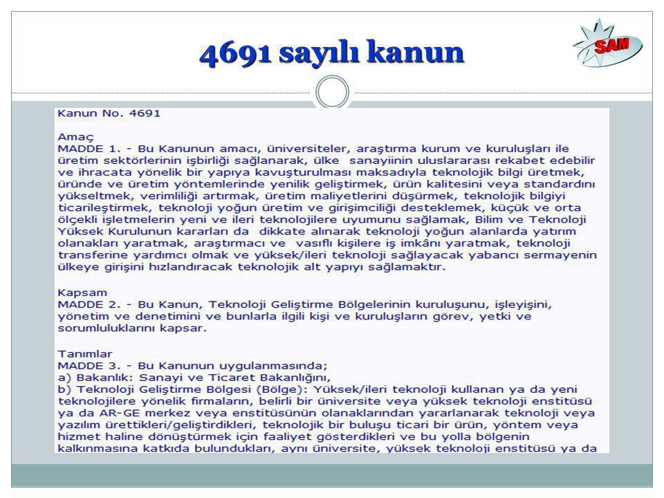 4691 sayılı kanun