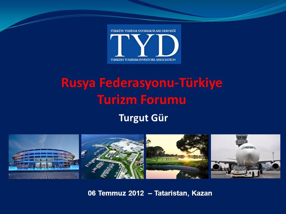 Rusya Federasyonu-Türkiye Turizm Forumu Turgut Gür 06 Temmuz 2012 – Tataristan, Kazan