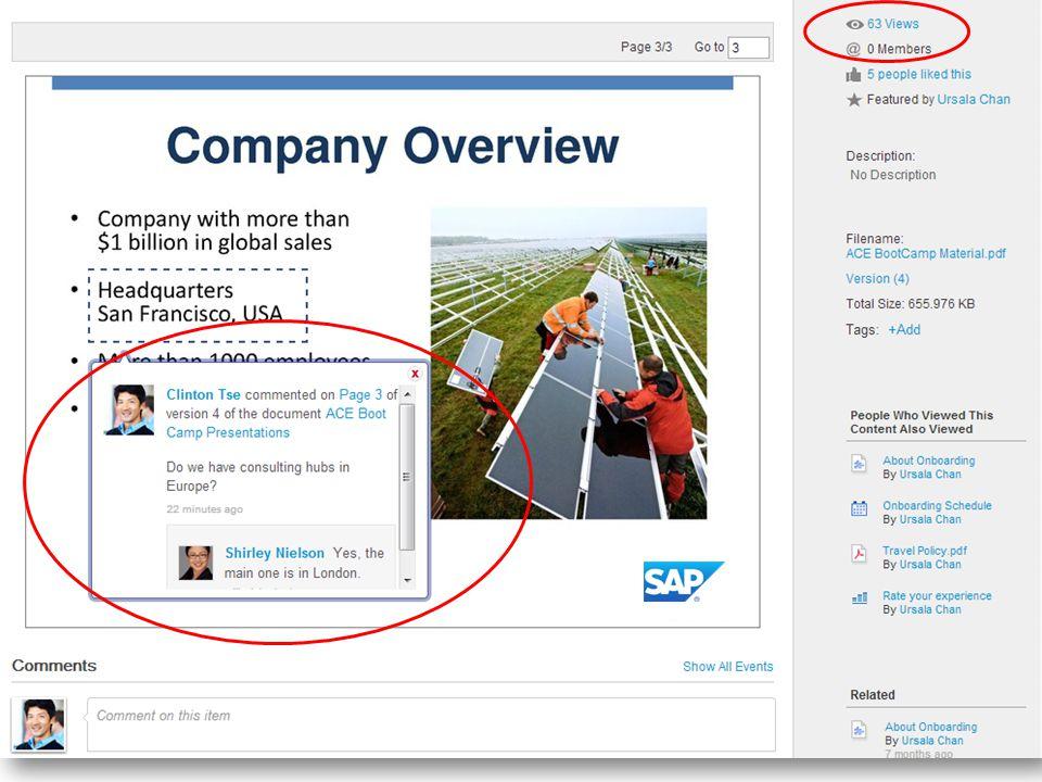 11 SuccessFactors Proprietary and Confidential © 2013 SuccessFactors, An SAP Company.