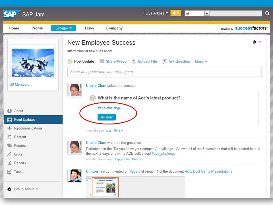 12 SuccessFactors Proprietary and Confidential © 2013 SuccessFactors, An SAP Company.