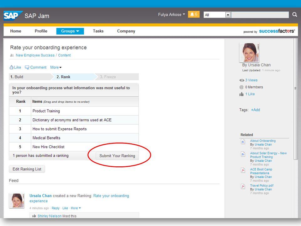 13 SuccessFactors Proprietary and Confidential © 2013 SuccessFactors, An SAP Company.