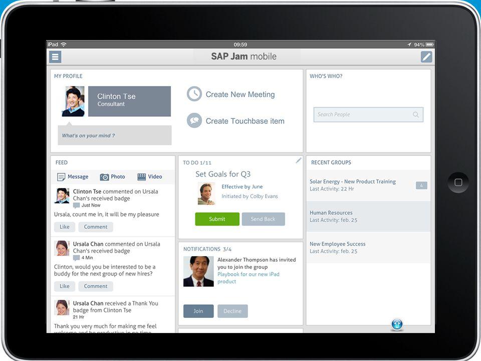 15 SuccessFactors Proprietary and Confidential © 2013 SuccessFactors, An SAP Company.