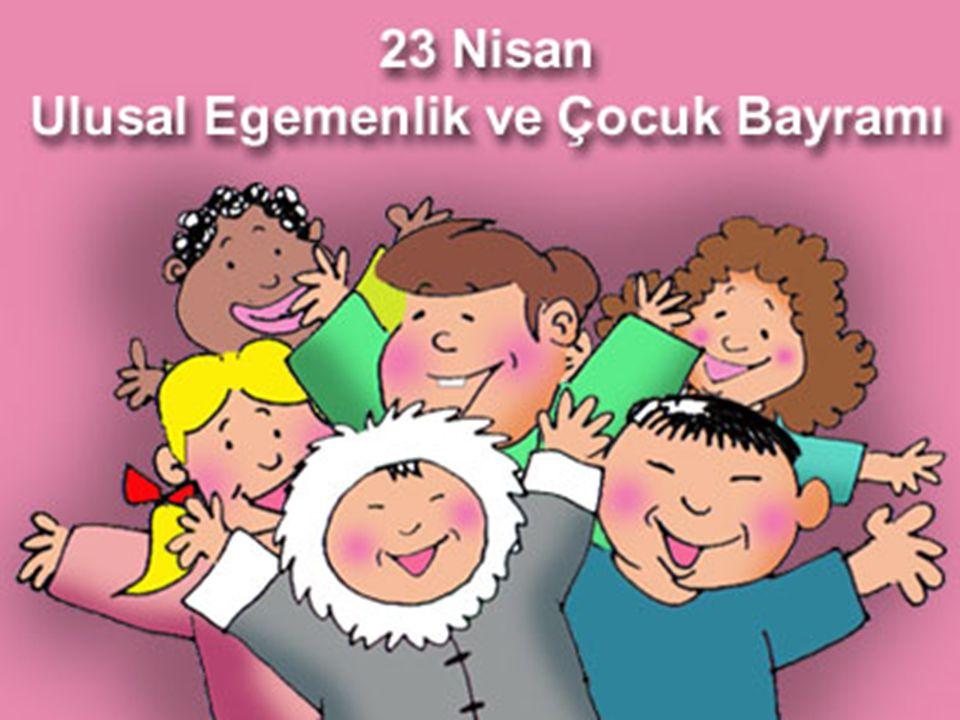 ULUSAL EGEMENLİK VE ÇOCUK BAYRAMI TARİHİ • 23 Nisan 1920 tarihinde Türkiye Büyük Millet Meclisinin açıldığı günün yıldönümü olarak kutlanmaya başlanan ulusal bayram,ilk kez 23 Nisan 1920'de Hakimiyeti Milliye Bayramı olarak kutlanmıştır.