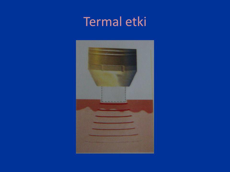 Ablatif lazer uygulamaları • Fotohasarlarda ve skarlarda, %50 düzelme (%20-%90) görülebilir.