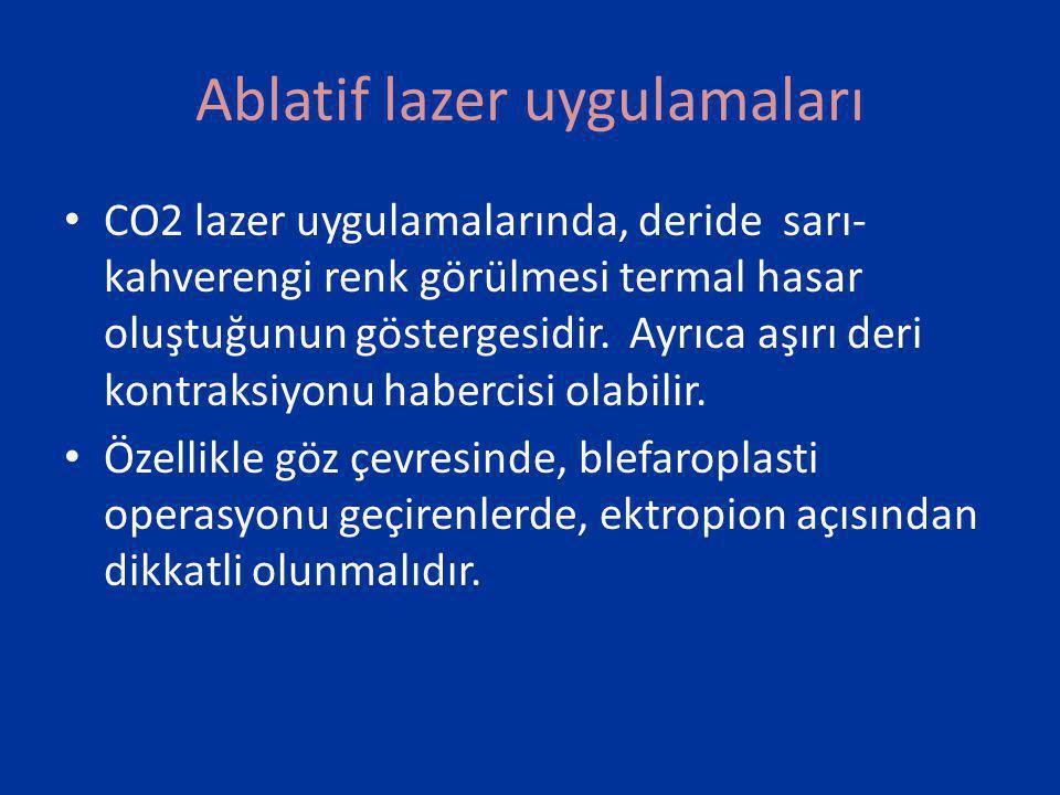 Er:YAG lazer İntraepidermal seviye