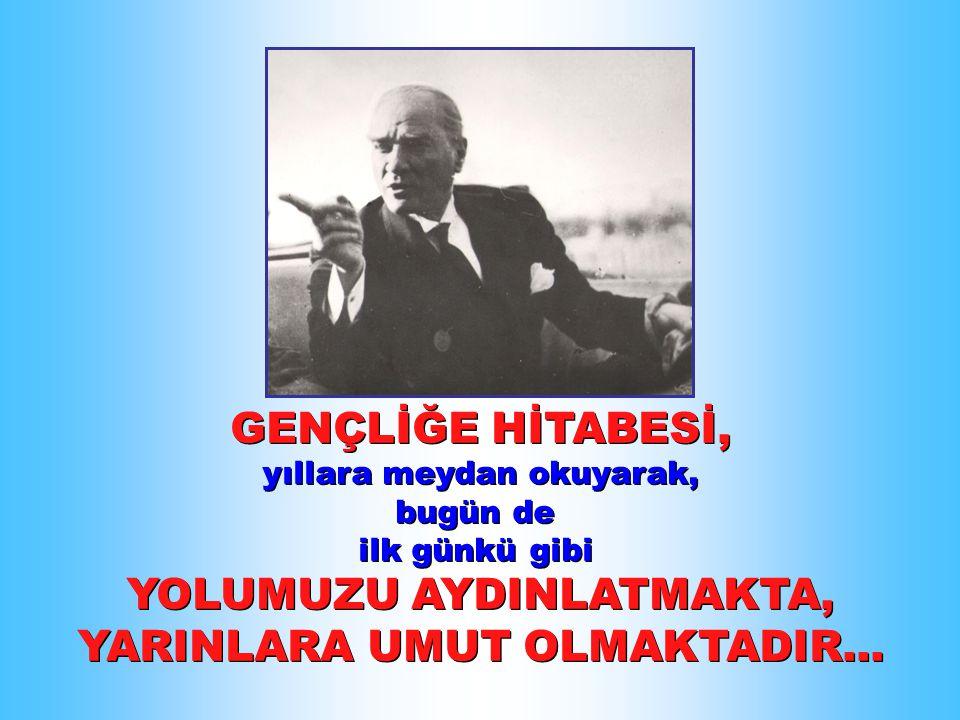 DÜNYANIN TEK ÇOCUK BAYRAMINI Türk çocuklarına armağan eden...