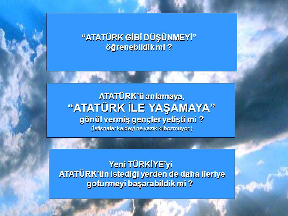 """1938'den 2006'ya kaç 19 yıl geçti ? 1938'den 2006'ya kaç 19 yıl geçti ? Bu """"19 YIL""""larda Mustafa Kemal ATATÜRK'ün bizi görmek istediği yere, Bu """"19 YI"""