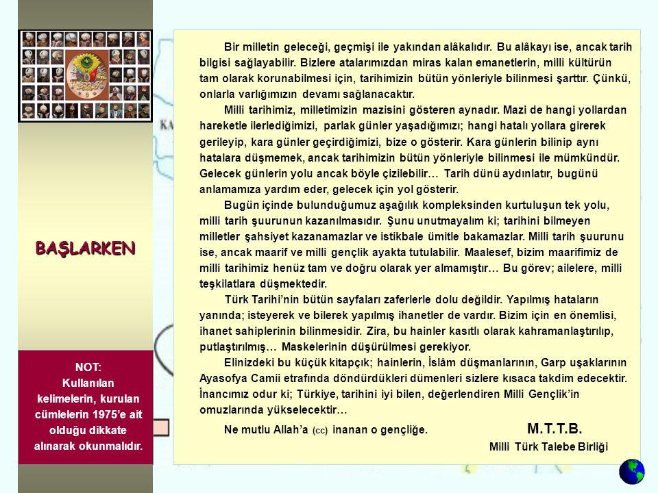 AYASOFYA Ey İslâmın nûru, Türklüğün gururu Ayasofya.