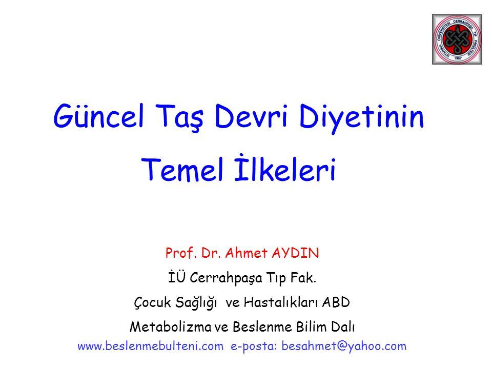 Prof.Dr. Ahmet AYDIN İÜ Cerrahpaşa Tıp Fak.