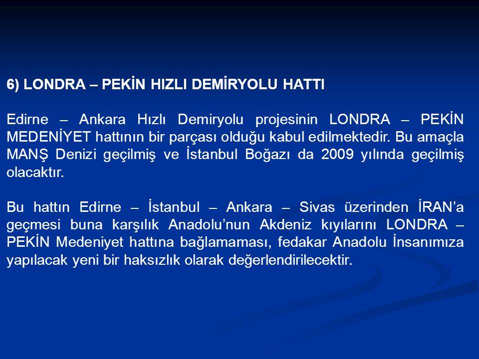 5.2) Yabancı Yolcu Potansiyeli 2015'li yıllarda Antalya – İstanbul noktalarına gelecek 20 Milyon Turistin (15 Milyon Antalya 5 Milyon İstanbul) %20'si