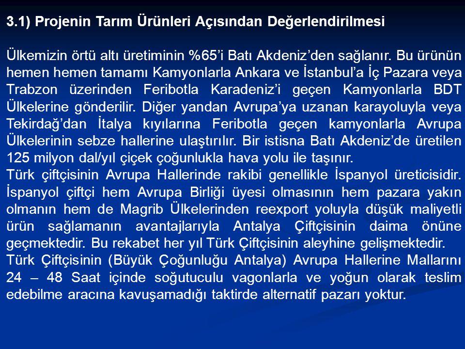 3) AÇIKLAMA: Ülkemizin ekonomik ve sosyal açıdan en Gelişmiş bölgesi Marmara'dır. Marmara'nın Avrupa ve Kuzey Ülkeleriyle Kara – Deniz – Hava ve Demir