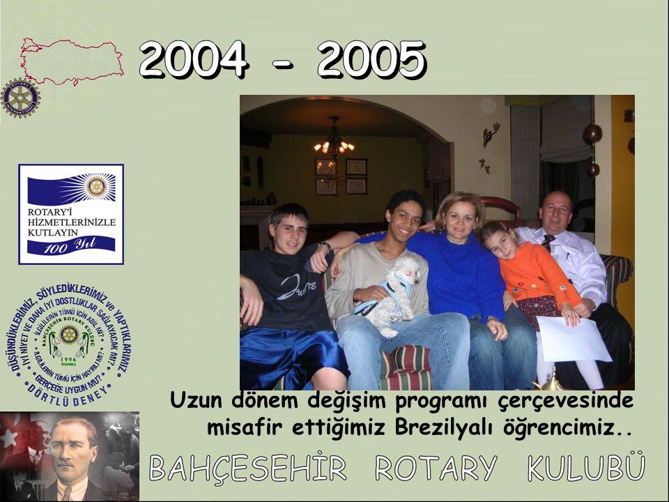 Uzun dönem değişim programı çerçevesinde misafir ettiğimiz Brezilyalı öğrencimiz..