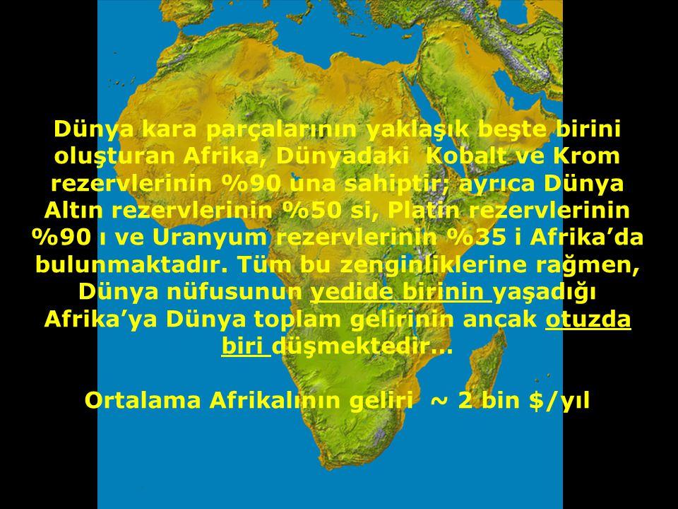 """İnsan türünün 150-200 bin yıl önce tüm dünyaya yayıldığı, çıkış yerimiz olan Afrika, kelimenin tam anlamıyla """"geride bırakılmış"""" bir Kıtadır. Üzerinde"""
