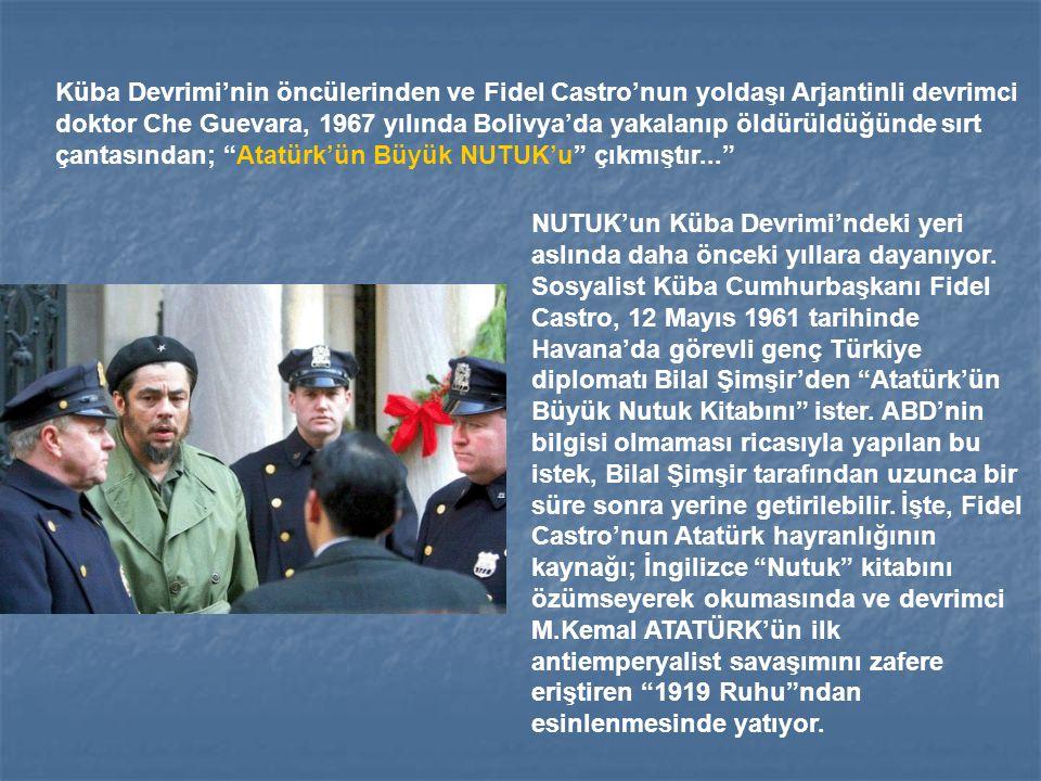 12 Aralık 1996'da bir ödül töreni için gittiği Küba'da Fidel Castro ile görüşen Dursun ÖZDEN kendisine Türkiye'de solcu, ilerici ve devrimci gençler; Che Guevara ve Fidel Castro'yu çok seviyorlar ve sizleri mutlak önder olarak kabul ediyorlar... der.