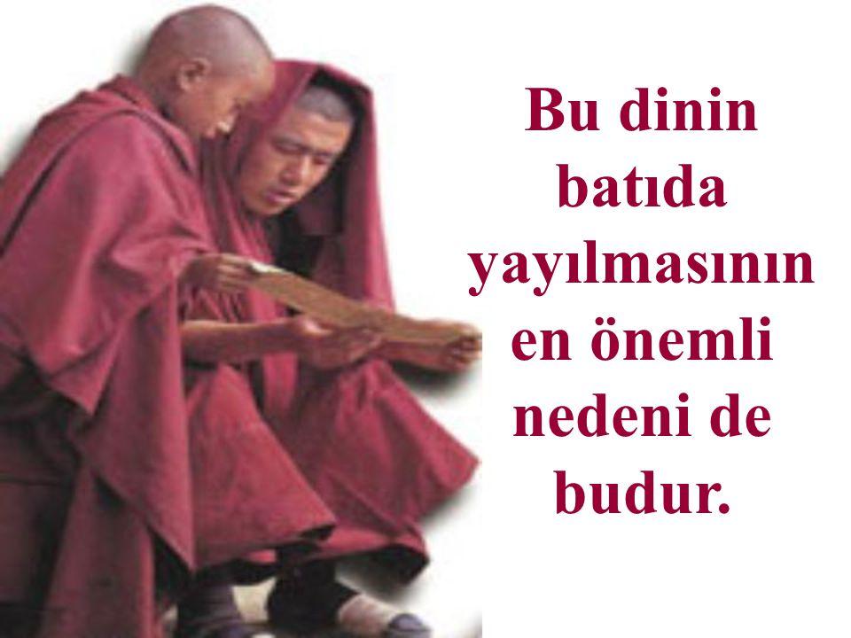 Budizm'de olumlu özellikler de bulunmaktadır.