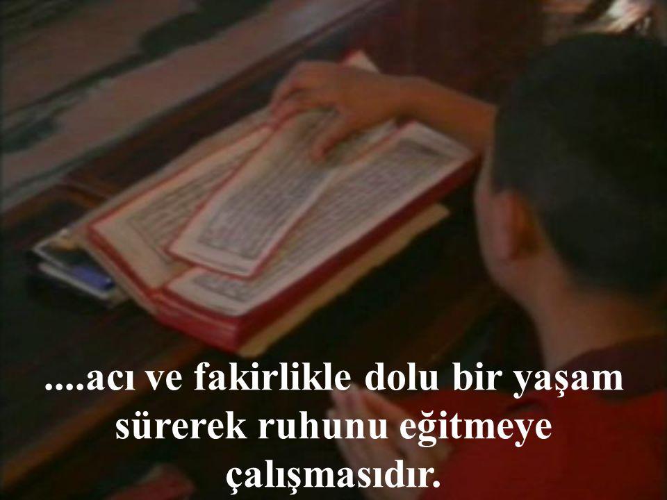 Bu kitaplarda üzerinde durulan tek konu; insanın bütün arzularını bastırarak,...
