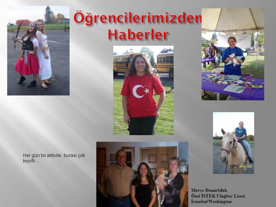 Pırıl Koralp Özel Antalya Lisesi Antalya/Ohio Yıl sonu balomda arkadaşlarımla… Cadı kızlar !!! 