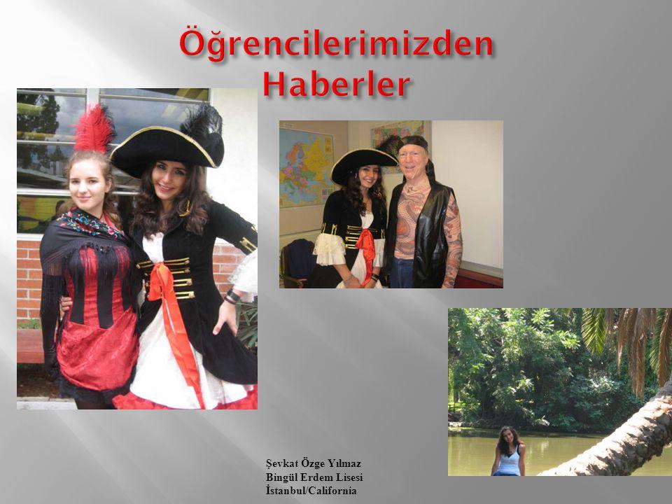 Merve Demirbilek Özel İSTEK Uluğbey Lisesi İstanbul/Washington Her gün bir aktivite, burası çok keyifli…