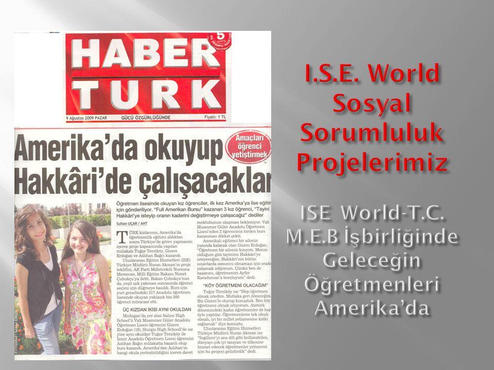 Şevkat Özge Yılmaz Bingül Erdem Lisesi İstanbul/California