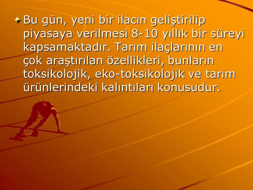 2-Ankara Üniversitesi Ziraat Fakültesi Bitki Koruma Bölümü, Ege Üniversitesi Ziraat Fakültesi Bahçe Bitkileri Bölümü ve TARİŞ 'le birlikte yürütülen Kuru İncir Sektöründe Metil Bromürün Kullanımdan Kaldırılması isimli proje 6 Şubat 2001 tarihinde başlanan proje 26 ay süreli olarak planlanmıştır