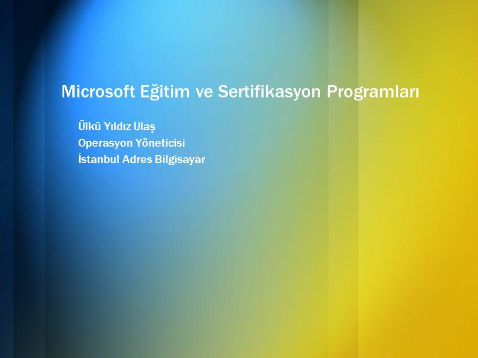 Microsoft Sertifika Programları